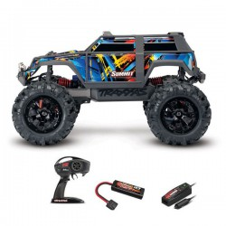 SUMMIT Rock n' Roll - 4x4 - 1/16 BRUSHED AVEC BATTERIE ET CHARGEUR